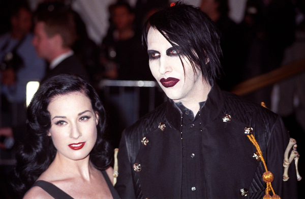 dita von teese marilyn manson engagement ring if not i 39 m sure manson