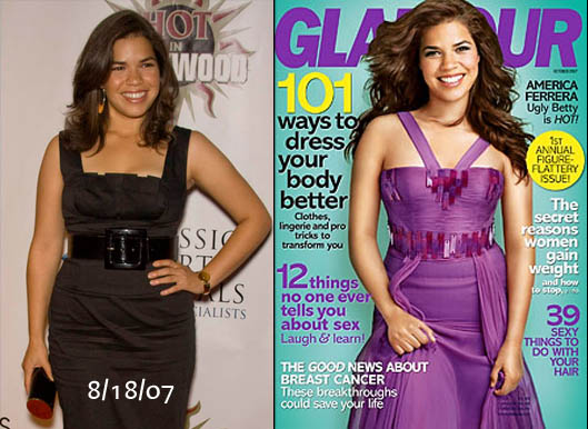 america ferrera weight loss before and after. America Ferrera has lost