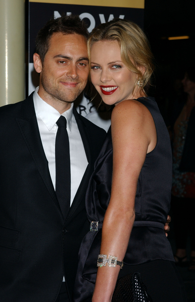 Cele Bitchy Charlize Theron S Boyfriend Calls Her His Wife