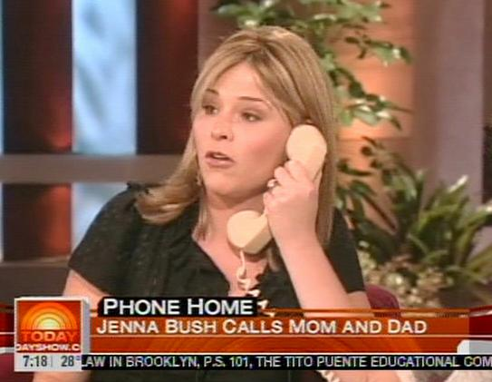 91791729 Recently engaged author and first daughter Jenna Bush is getting some flak ...