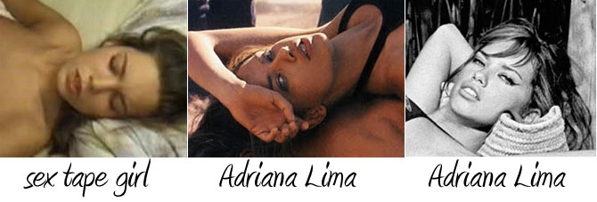 I just got an e-mail about a potential Adriana Lima sex tape.