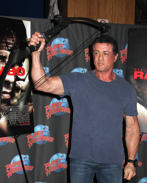 Never let anyone accuse Sylvester Stallone of being a gentleman. Or classy.