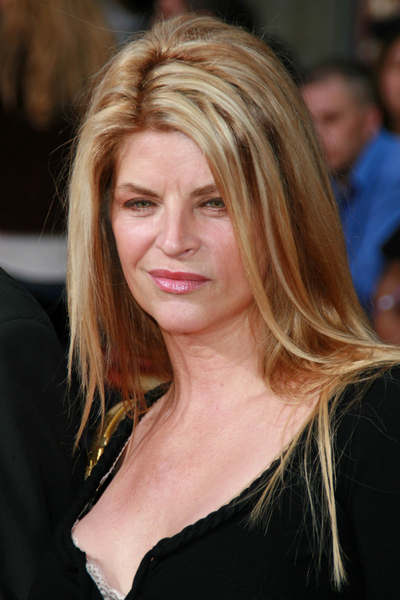 "Kirstie Alley gives an interview about her ""religion"" Scientology in this ..."