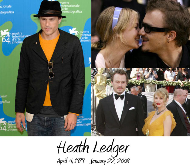 Cele|bitchy | Heath Ledger cremated; mourners jump into ...