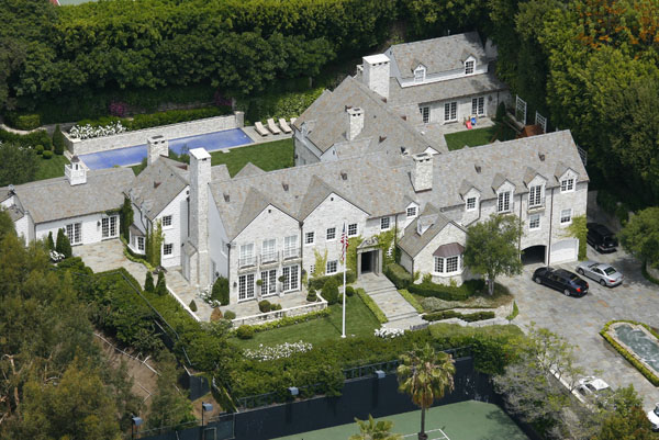Cele Bitchy Nicole Kidman And Keith Urban Buy La Mansion