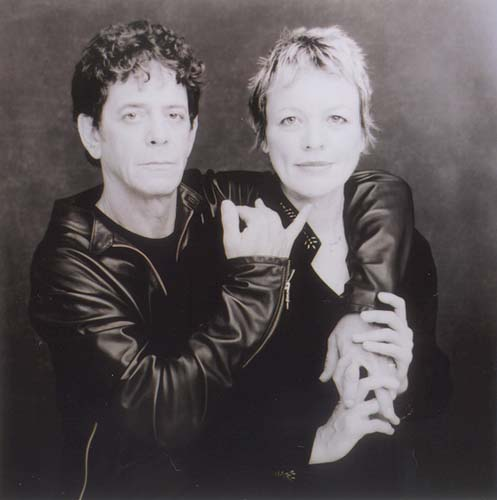 lou reed live. live-in couple Lou Reed