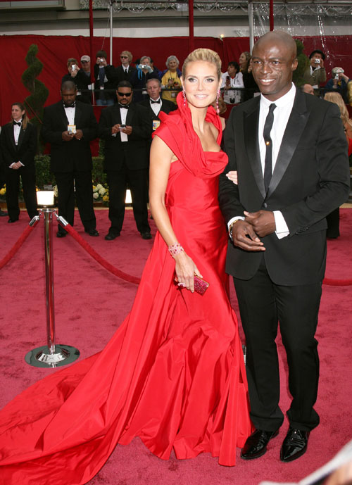 heidi klum seal wedding vows. Heidi Klum, 34, and Seal, 45,