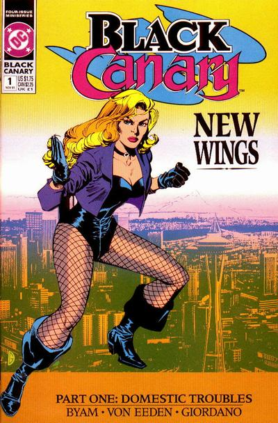 Note by Celebitchy Here's another picture of the cartoon Black Canary