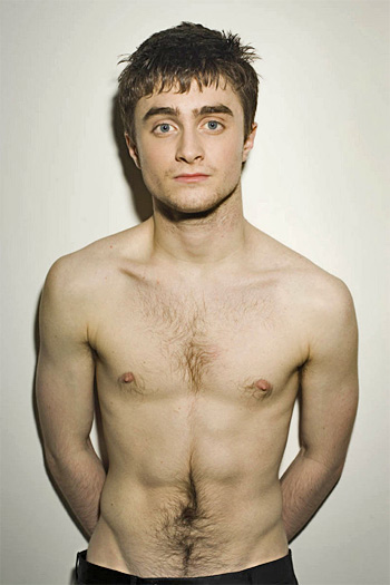 ... Daniel Radcliffe will be appearing nude on stage in Equus in November, ...