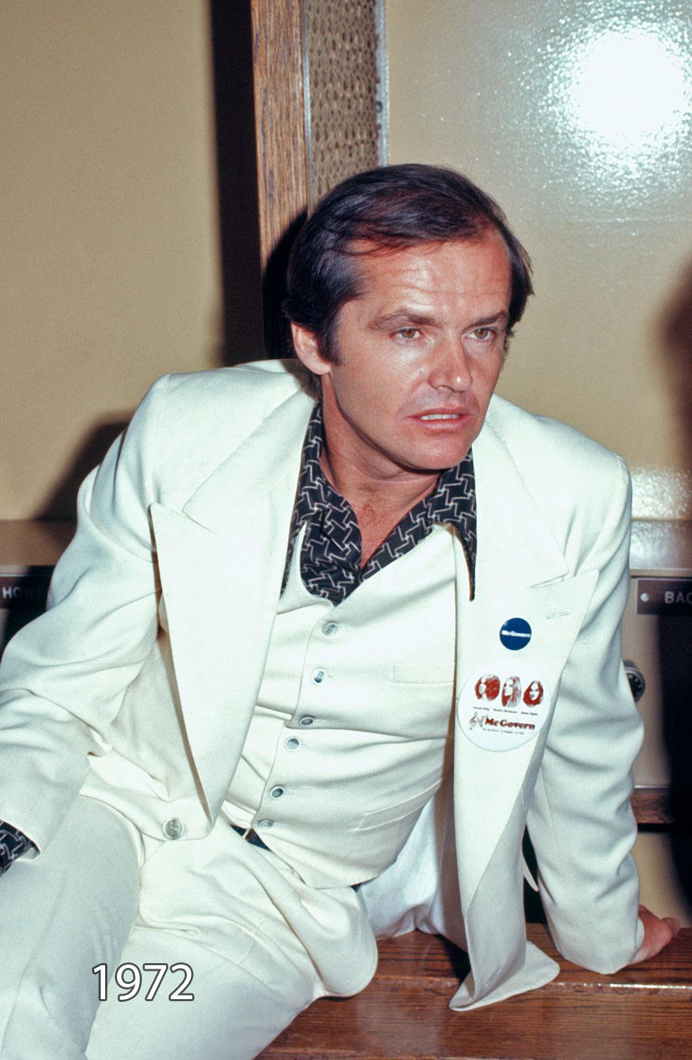Jack Nicholson says he...