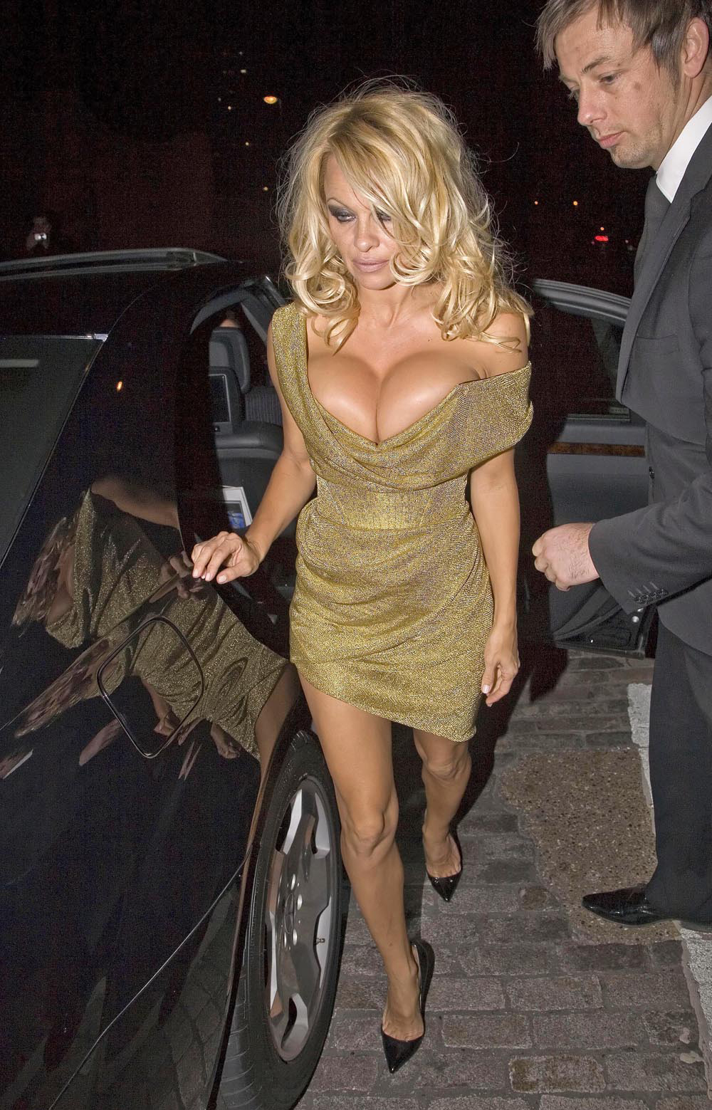 Being grown in Pamela Anderson's womb has got to be a challenging thing.
