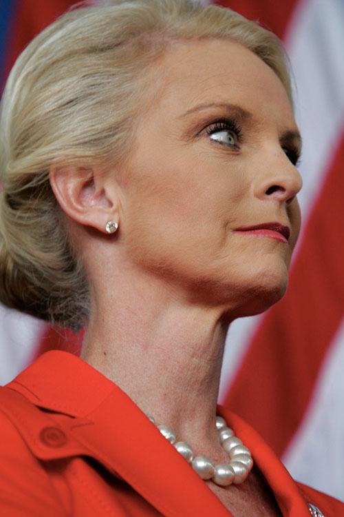 cindy mccain photos. Cindy McCain is shown on the