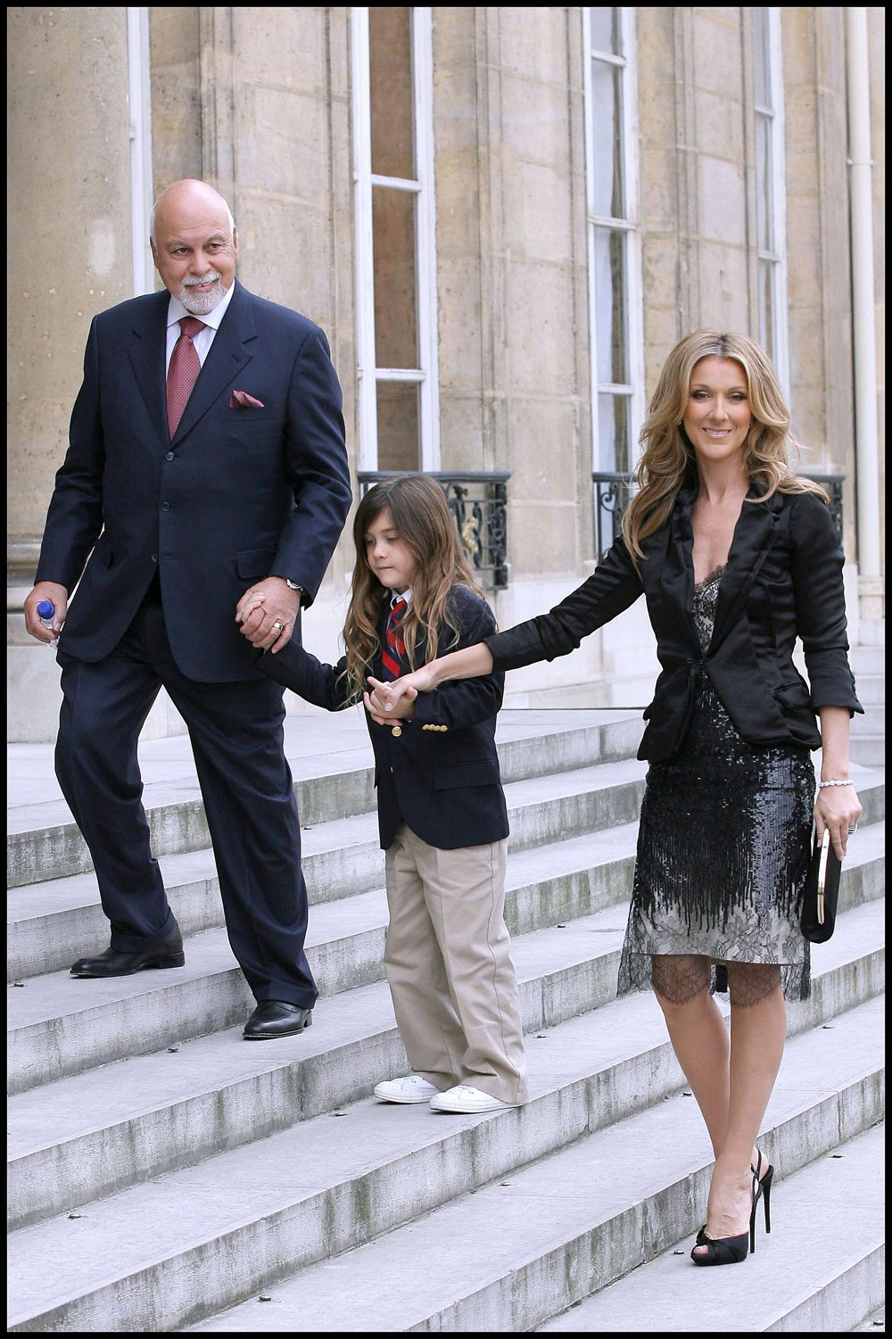 Celine Dion insists 7 year old son has just never wanted a hair cutCeline Dion Son