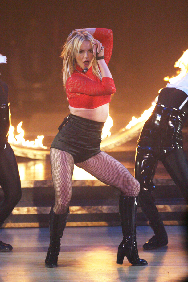 LOVES CHOCOLATE?? Britney spear pantyhose really