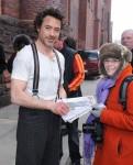 Sherlock Holmes filming in NYC