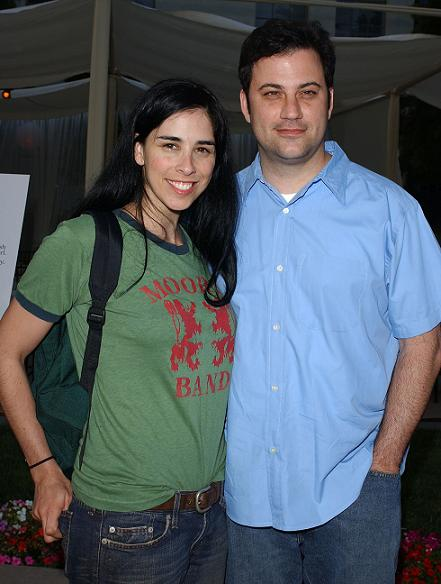 kimmel and silverman dating Sarah silverman seems to have a knack for making tricky relationships work case in point: her continuing friendship with her ex-boyfriend jimmy kimmel, from whom she split in 2009 after seven years of dating.