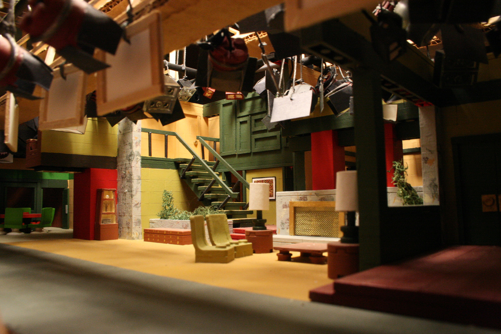 house in addition brady bunch house interior sets on miniature