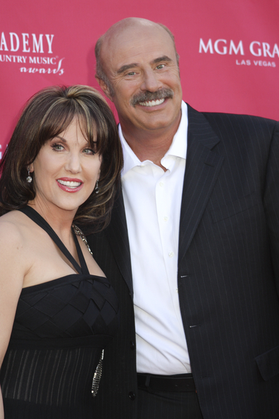 Dr. Phil McGraw and Robin McGraw