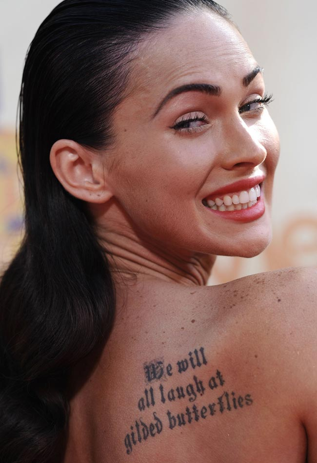 megan fox before she was famous. a little from Megan Fox#39;s