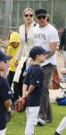 ryan phillippe and abbie cornish baseball game 3 060609