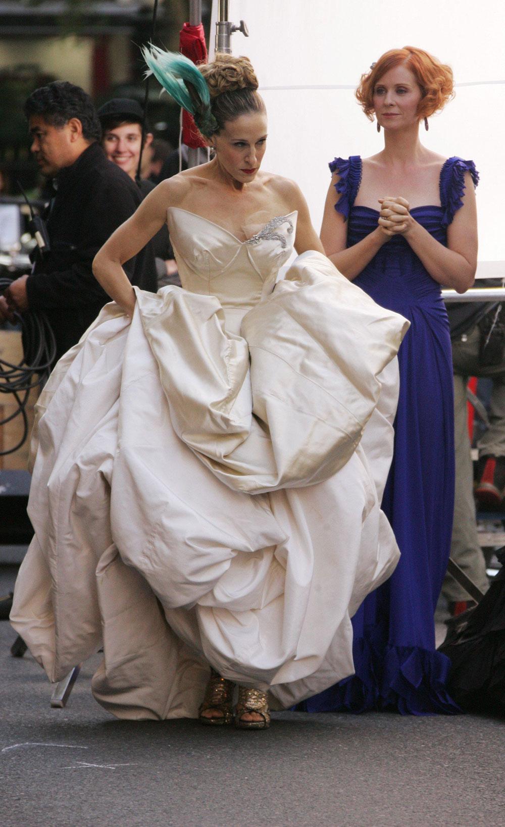 Синтия никсон фото свадьбы