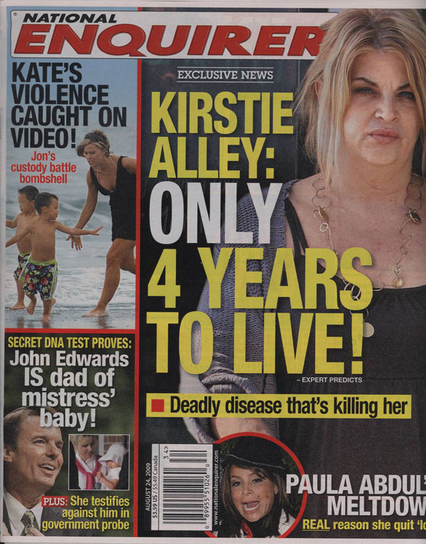 National Enquirer Headlines The National Enquirer This
