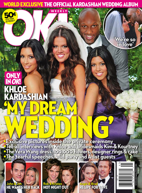 Khloe Kardashian and Lamar Odom didn 39t really get married this past