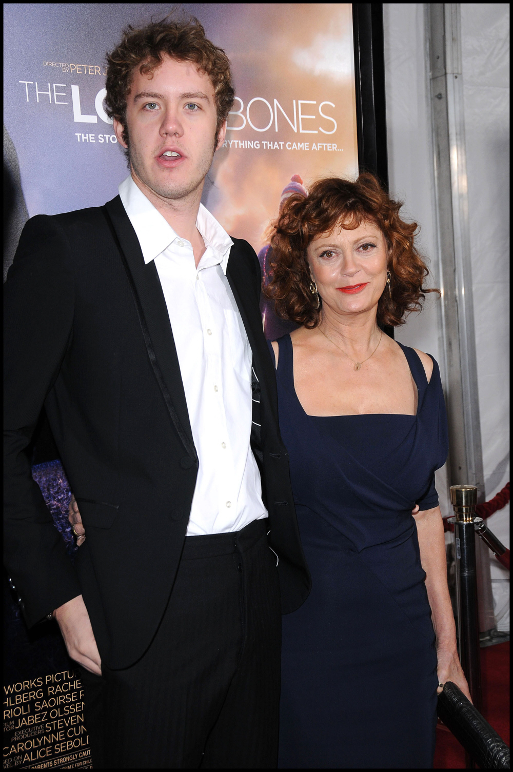 Cele|bitchy | Susan Sarandon's son Jack is kind-of goofy/hot