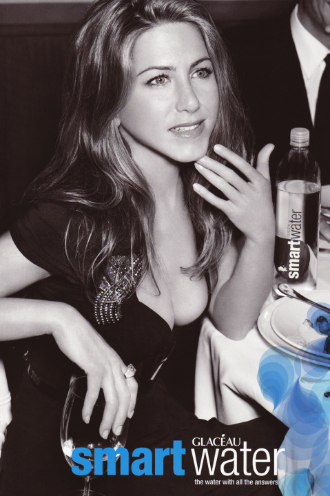 Here are some older Smart Water ads featuring Jennifer: