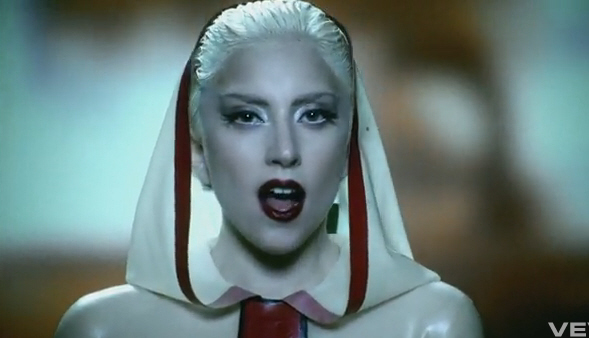 Lady Gaga Alejandro Single. Lady Gaga#39;s video for her new