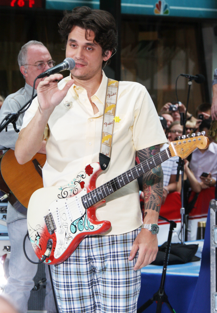 John Mayer on July 23, 2010. Credit: WENN.