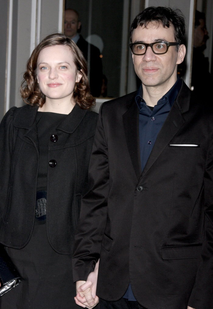 Mad Men's Elizabeth Moss and SNL's Fred Armisen have split after ten months ...
