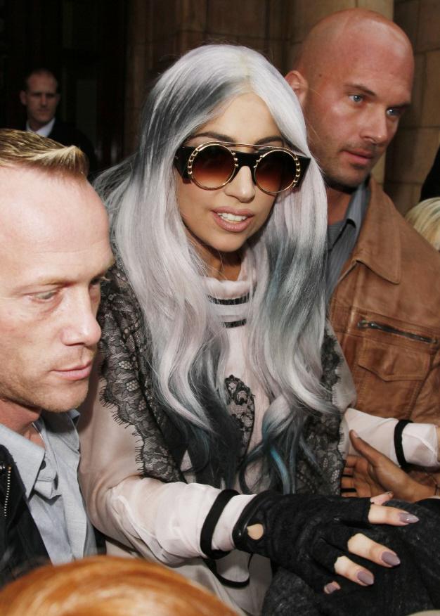lady gaga boyfriend luc carroll. Gaga#39;s boyfriend Luc Carl.