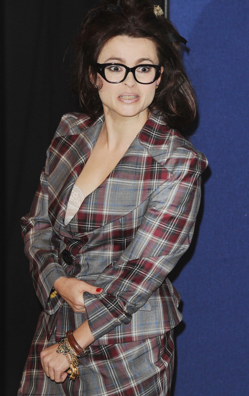 Helena Bonham Carter's fashion sense is joyfully, excessively crazy