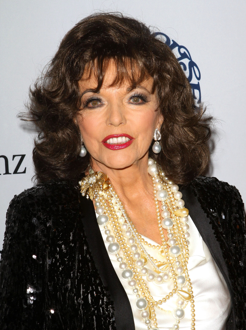 joan collins photoshoot