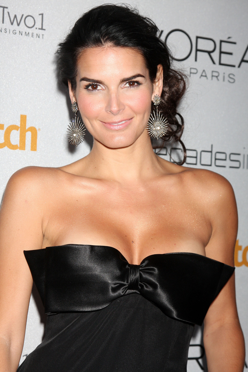 Angie Harmon At More Magazine September 2013: Angie Harmon's Bust: Enhanced Or Just A Bustier?