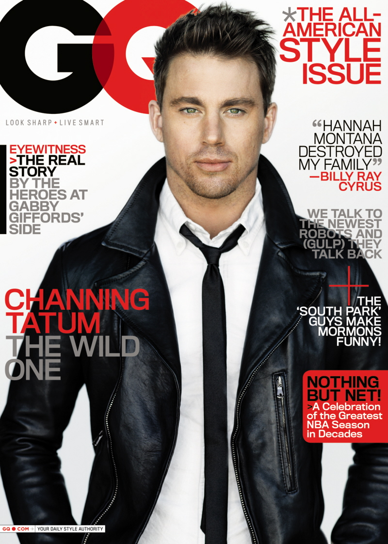 Gq Magazine The Secrets Of R Kelly: Channing Tatum's Mostly Clothed GQ Photo