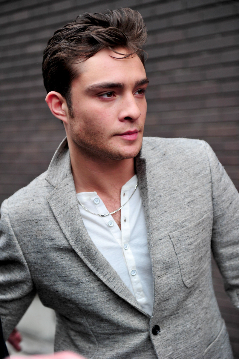 about my love Ed Westwick  Ed Westwick