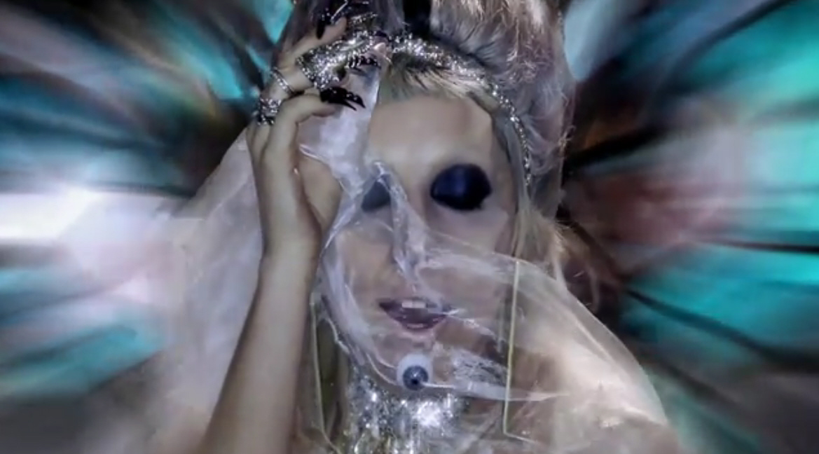 lady gaga born this way music video. Lady Gaga#39;s music video for