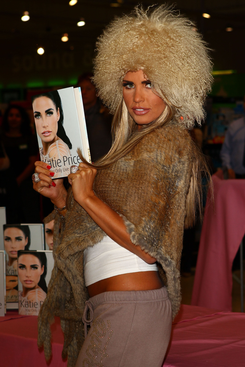 Katie Price is an icon of