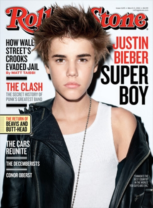 justin bieber rolling stones poster. Bieber – who