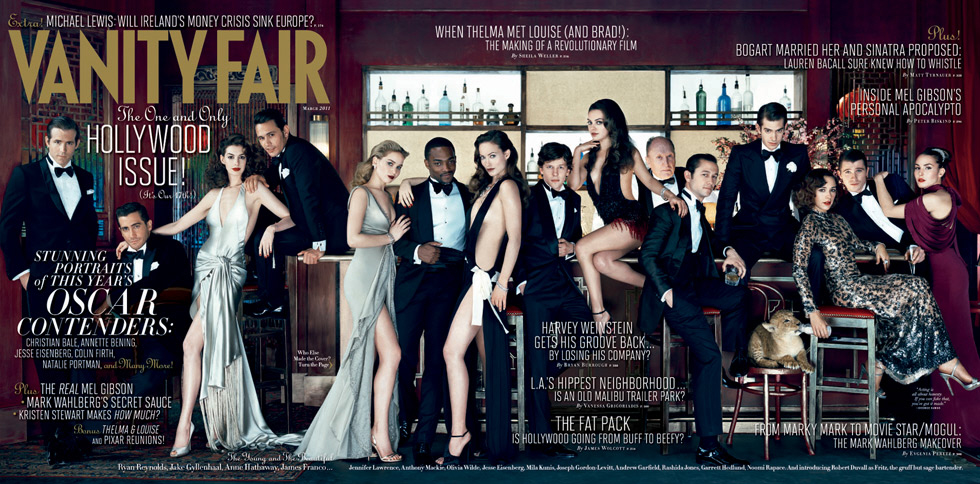 "After last year's ""pretty white girl"" cover for Vanity Fair's annual"