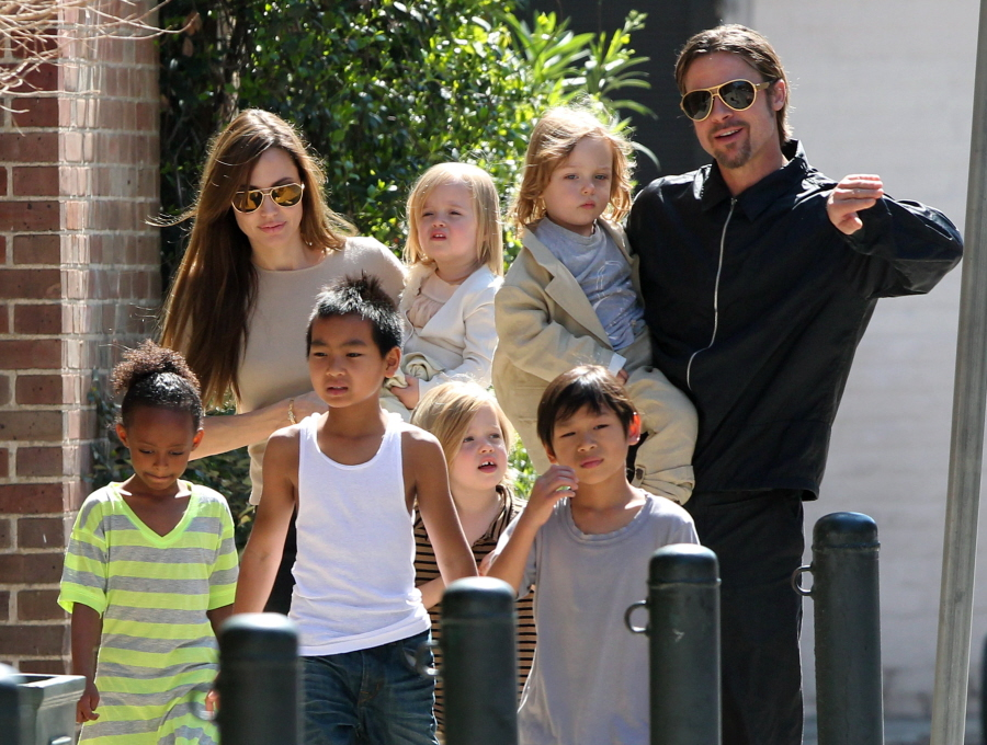 Image result for brad angelina kids
