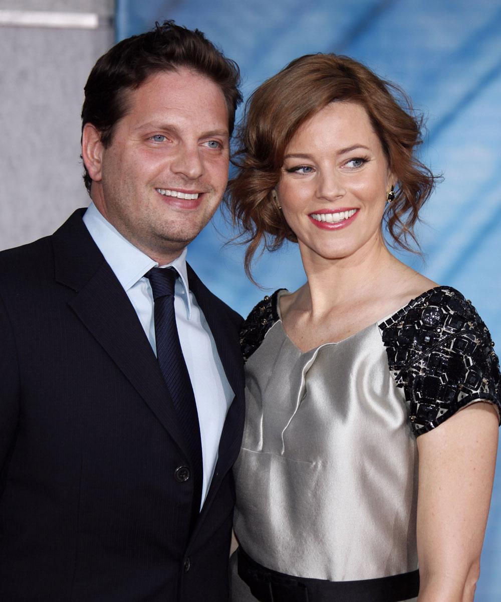 Elizabeth Banks and husband