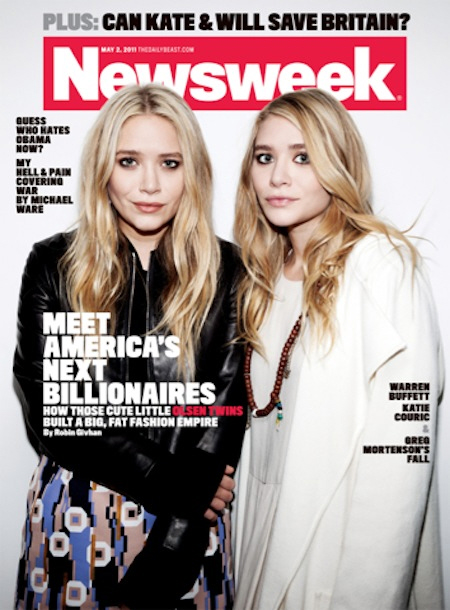 The Row Clothing Line By The Olsen Twins The Olsens made the cover of