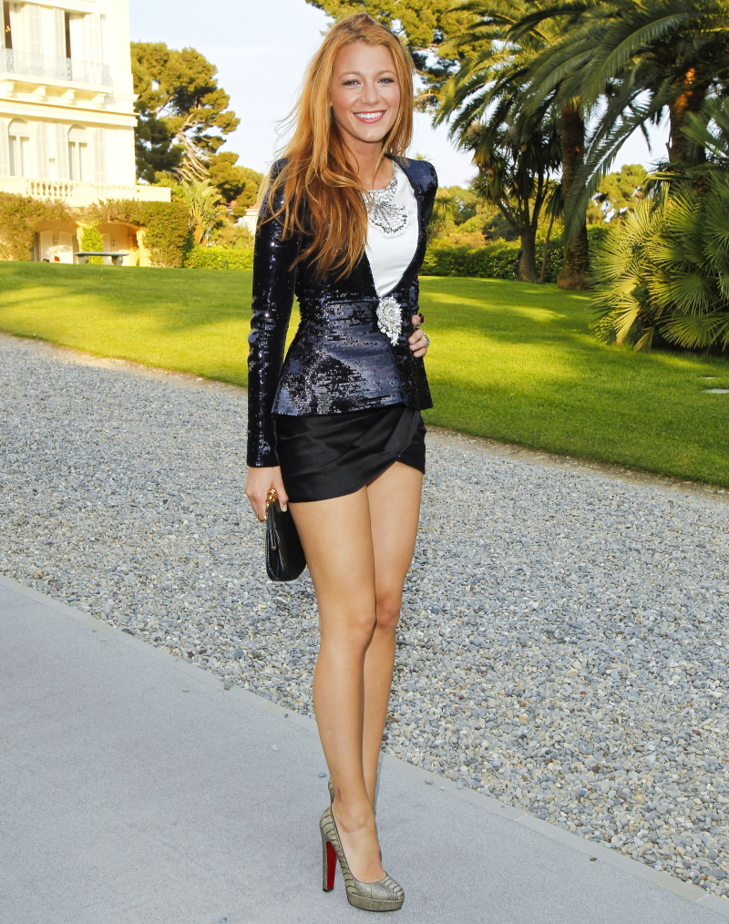 Weather Channel Women Legs Celebitchy blake lively in a micromini at ...