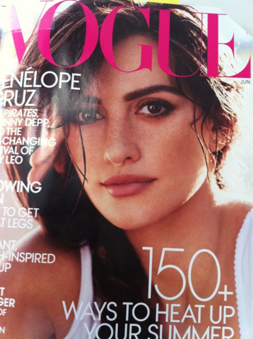 penelope cruz photoshopped. Penelope Cruz is the cover