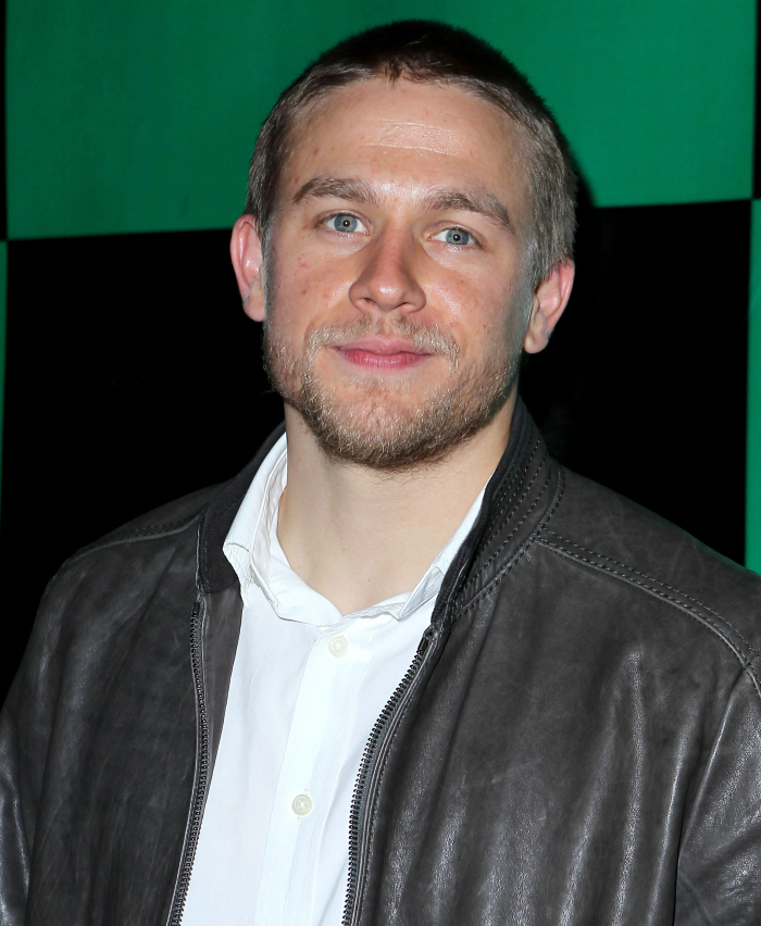 "Cele|bitchy | ""Charlie Hunnam isn't very photogenic, but ..."