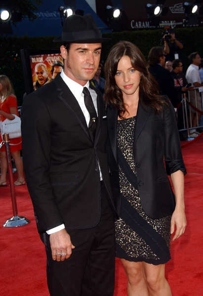 Justin Theroux with guest