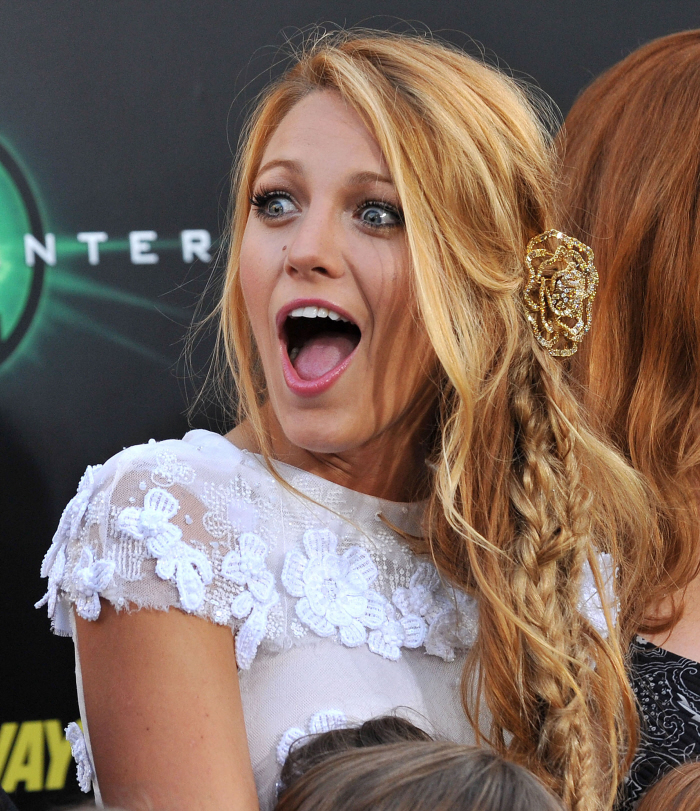 Blake Lively Mouth